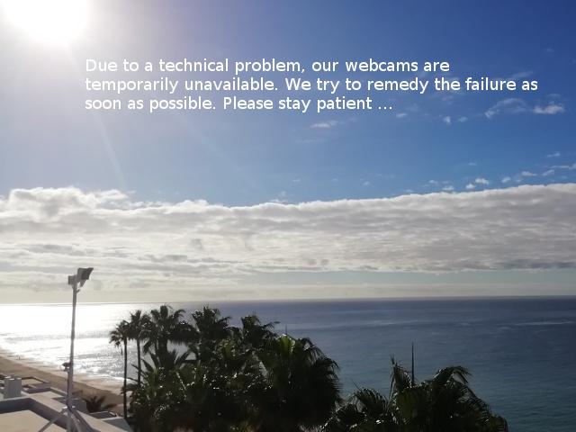 Webcam von Coronado Beach im Süden Fuerteventuras Rchtung Osten